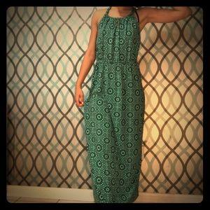 Gap Maxi Dress (floral print)
